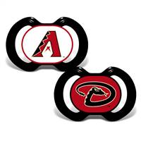 Arizona Diamondbacks Pacifier 2 Pack - Special Order