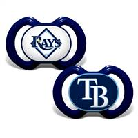 Tampa Bay Rays Pacifier 2 Pack - Special Order