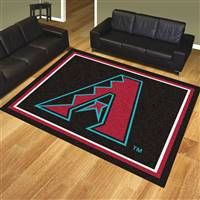 "Arizona Diamondbacks 8x10 Rug 87""x117"""