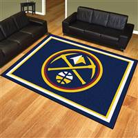 "NBA - Denver Nuggets 8x10 Rug 87""x117"""