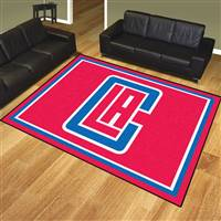 "NBA - Los Angeles Clippers 8x10 Rug 87""x117"""