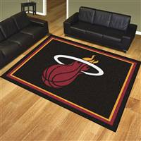 "NBA - Miami Heat 8x10 Rug 87""x117"""