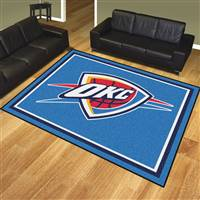 "NBA - Oklahoma City Thunder 8x10 Rug 87""x117"""