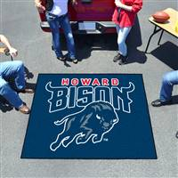 "Howard University Tailgater Mat 59.5""x71"""