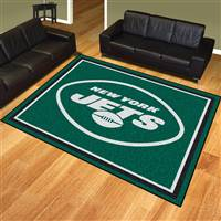 "NFL - New York Jets 8x10 Rug 87""x117"""