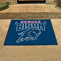 "Howard University All-Star Mat 33.75""x42.5"""