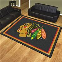 "NHL - Chicago Blackhawks 8x10 Rug 87""x117"""