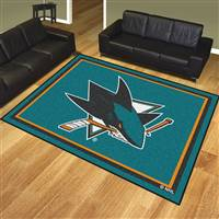 "NHL - San Jose Sharks 8x10 Rug 87""x117"""
