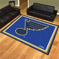 "NHL - St. Louis Blues 8x10 Rug 87""x117"""
