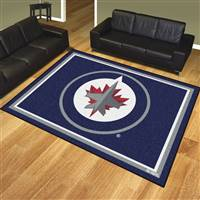 "NHL - Winnipeg Jets 8x10 Rug 87""x117"""
