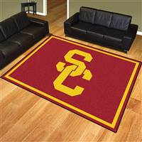 "University of Southern California 8x10 Rug 87""x117"""