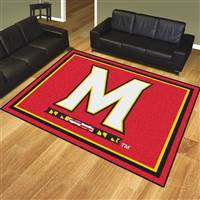 "University of Maryland 8x10 Rug 87""x117"""
