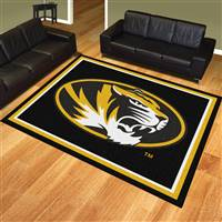 "University of Missouri 8x10 Rug 87""x117"""
