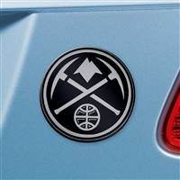 "NBA - Denver Nuggets Chrome Emblem 3""x3.2"""