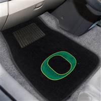 "University of Oregon 2-pc Embroidered Car Mat Set 17""x25.5"""