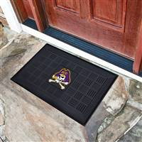 "East Carolina University Medallion Door Mat 19.5""x31.25"""