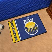 "NBA - Golden State Warriors Uniform Starter Mat 19""x30"""