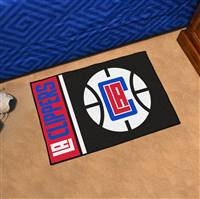 "NBA - Los Angeles Clippers Uniform Starter Mat 19""x30"""