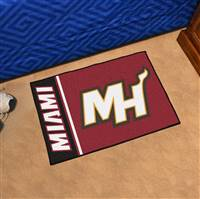 "NBA - Miami Heat Uniform Starter Mat 19""x30"""