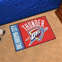 "NBA - Oklahoma City Thunder Uniform Starter Mat 19""x30"""