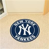 "New York Yankees Roundel Mat 27"" diameter"