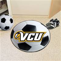 "Virginia Commonwealth University Soccer Ball Mat 27"" diameter"