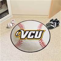 "Virginia Commonwealth University Baseball Mat 27"" diameter"
