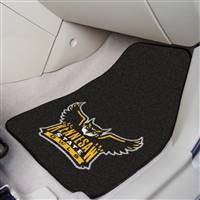 "Kennesaw State University 2-pc Carpet Car Mat Set 17""x27"""