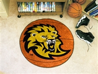 "Southeastern Louisiana Basketball Rug 29"" diameter"