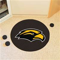 "University of Southern Mississippi Puck Mat 27"" diameter"