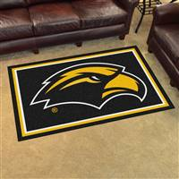 "University of Southern Mississippi 4x6 Rug 44""x71"""
