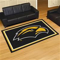"University of Southern Mississippi 5x8 Rug 59.5""x88"""