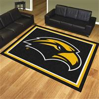 "University of Southern Mississippi 8x10 Rug 87""x117"""