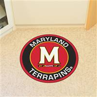 "University of Maryland Roundel Mat 27"" diameter"