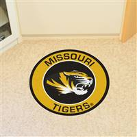 "University of Missouri Roundel Mat 27"" diameter"
