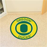 "University of Oregon Roundel Mat 27"" diameter"