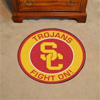 "University of Southern California Roundel Mat 27"" diameter"
