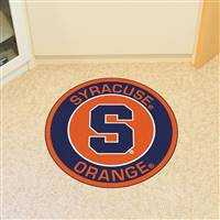"Syracuse University Roundel Mat 27"" diameter"
