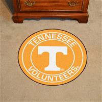 "University of Tennessee Roundel Mat 27"" diameter"