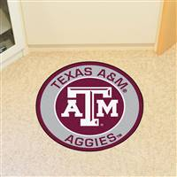 "Texas A&M University Roundel Mat 27"" diameter"