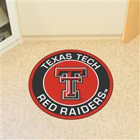 "Texas Tech University Roundel Mat 27"" diameter"