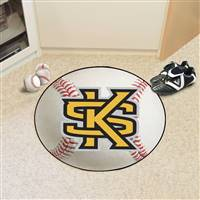"Kennesaw State University Baseball Mat 27"" diameter"