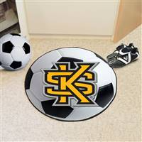 "Kennesaw State University Soccer Ball Mat 27"" diameter"