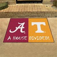 "House Divided - Alabama / Tennessee House Divided Mat 33.75""x42.5"""