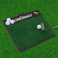 "University of Cincinnati Golf Hitting Mat 20"" x 17"""