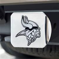 "NFL - Minnesota Vikings Chrome Hitch - Chrome3.4""x4"""