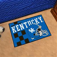 "University of Kentucky Uniform Starter Mat 19""x30"""