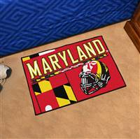 "University of Maryland Uniform Starter Mat 19""x30"""