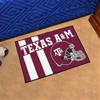 "Texas A&M University Uniform Starter Mat 19""x30"""