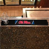 "University of Mississippi (Ole Miss) Drink Mat 3.25""x24"""